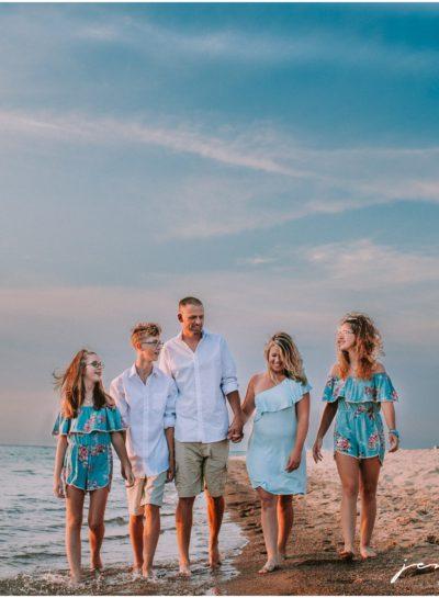Lake Michigan Family Session (Weko Beach Family Photographer)
