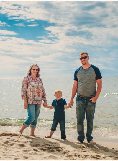 Suagatuck Mini Session•Carrie + Family (Michigan Beach Photographer)