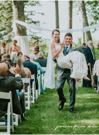 Anna + Nick A Blisswood Wedding (Michigan Destination Wedding Photographer – Harbor Springs)