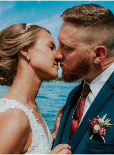A Bay Pointe Inn Wedding | Shawn + Chelsea (Destination Wedding Photographer)