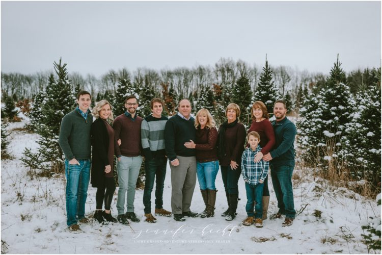 Family Fun At Timberly Tree Farm | Sturgis Michigan Family Session